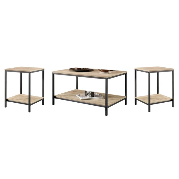 Ermont 3 Piece Coffee Table Set by Laurel Foundry