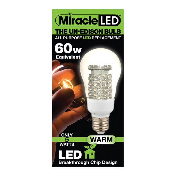 60W LED Light Bulb by Miracle LED