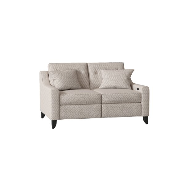 Logan Reclining Loveseat by Wayfair Custom Upholstery™