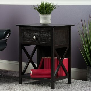 Aicha End Table with Storage by Charlton Home SKU:BB642227 Buy