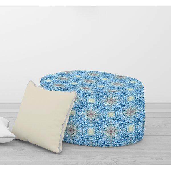 Rudolph Mosaic Pouf by Bungalow Rose