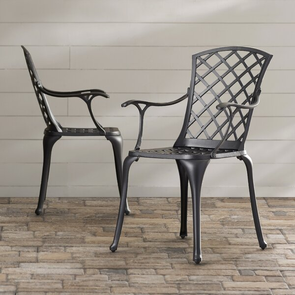 New Carrington Patio Dining Chair (Set Of 2) By Sol 72 Outdoor Today Sale Only