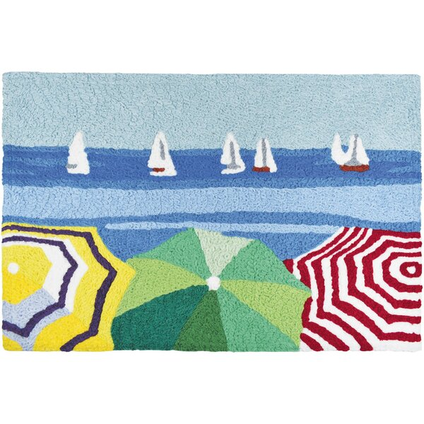 Sailboats in the Distance Kitchen Mat