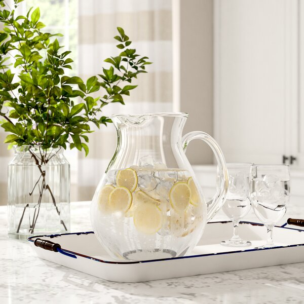 Classic Glassware Pitcher by Birch Lane™