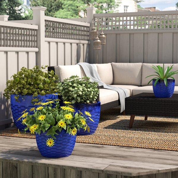 Amblewood 4-Piece Terra Cotta Pot Planter Set by Bloomsbury Market