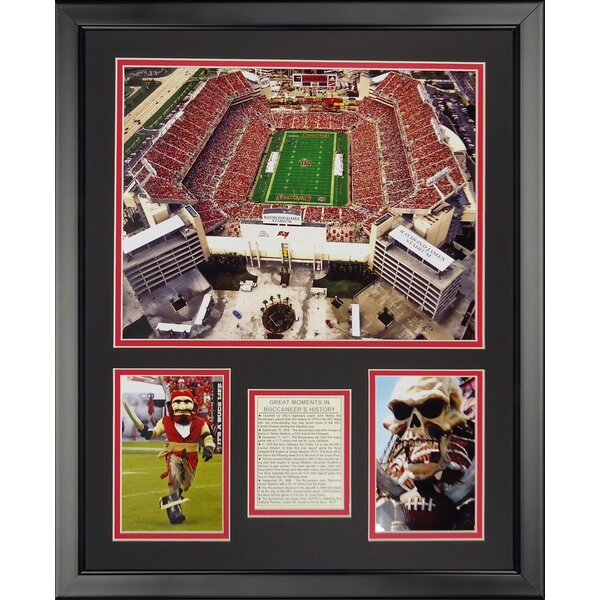NFL Tampa Bay Bucaneers - Raymond James Stdm Framed Memorabili by Legends Never Die