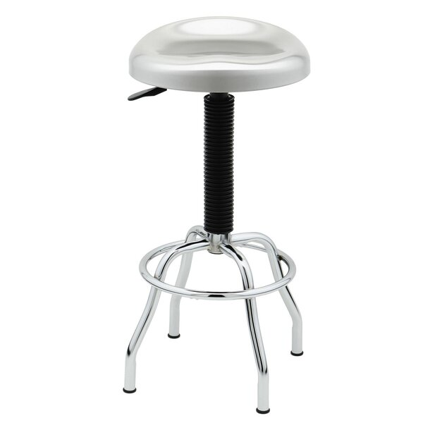 Adjustable Height Swivel Bar Stool by Seville Classics