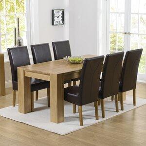 Essgruppe Barrow mit 6 Stühlen von Home Etc