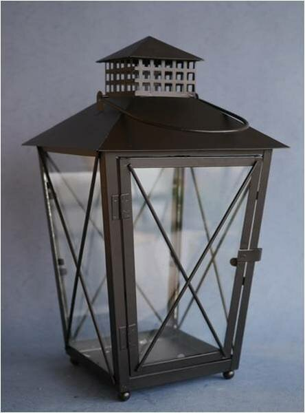 Metal Lantern by Gracie Oaks