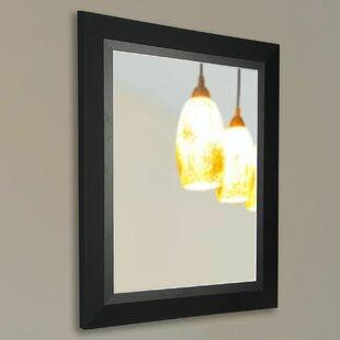 Brayden Studio Black Handcrated Wall Mirror