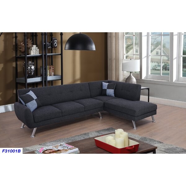 Best #1 Petersen Sectional By Brayden Studio Great Reviews