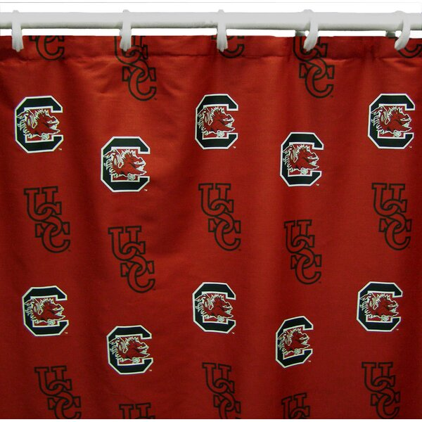 NCAA South Carolina Cotton Shower Curtain by College Covers
