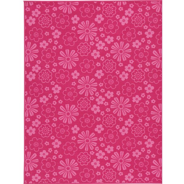 Juska Fuchsia Area Rug by Red Barrel Studio