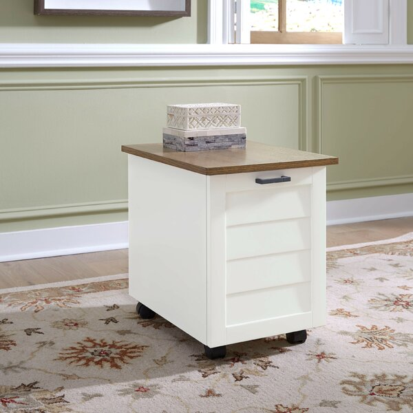 Swindle 1-Drawer Mobile Lateral Filing Cabinet