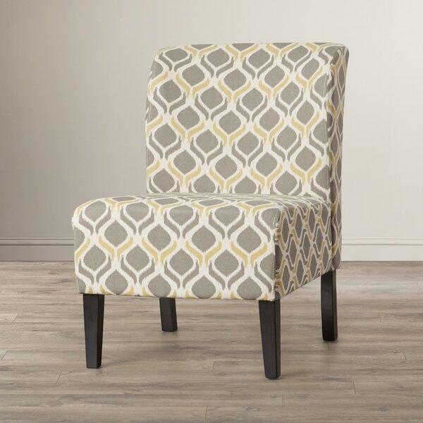 Cataldo Slipper Chair by Winston Porter