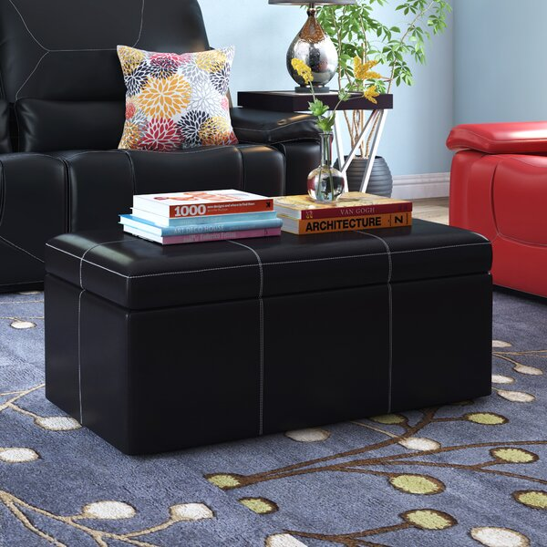 Trisler Storage Ottoman by Latitude Run