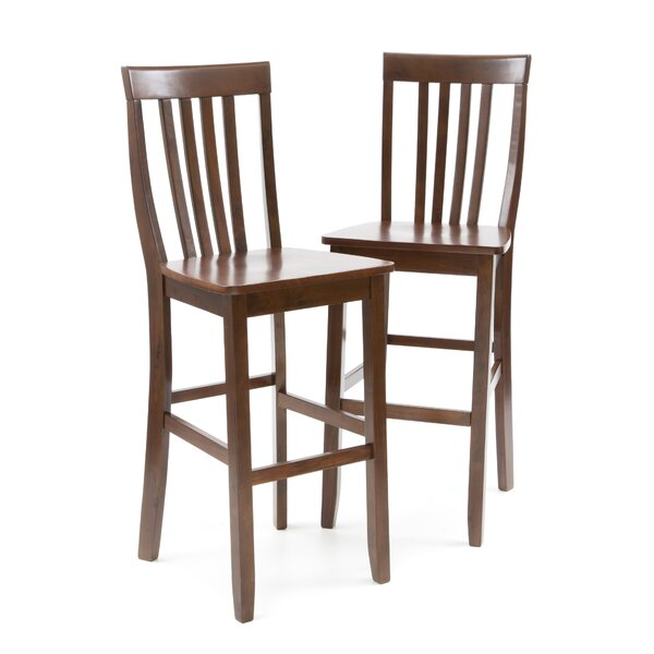 Beckman 30 Bar Stool (Set of 2) by World Menagerie