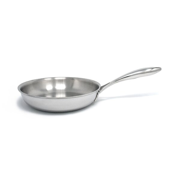Duratux Tri-Ply Open 10 Frying Pan by Tuxton Home