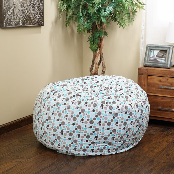 Polka Dots Bean Bag Chair by Harriet Bee