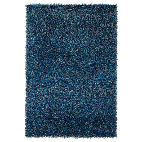 Zara Hand Woven Blue Area Rug by Chandra Rugs