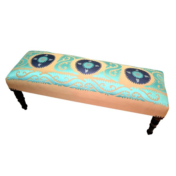 Upholstered Bench by Imports Decor