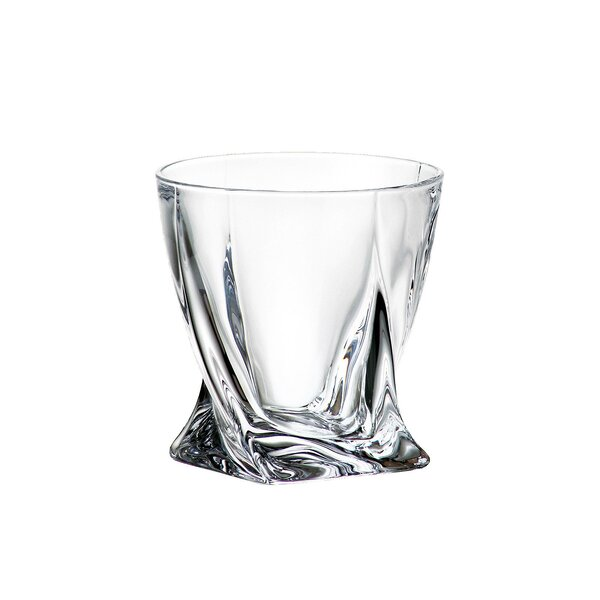 Quadro 11.49 oz. Cocktail Glass (Set of 6) by Red Vanilla