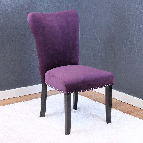 Kaat Velvet Dining Side Chair (Set of 2) by Willa Arlo Interiors