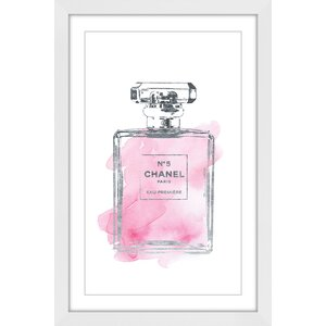 'Pink Touch' by Amanda Greenwood Framed Painting Print by Marmont Hill