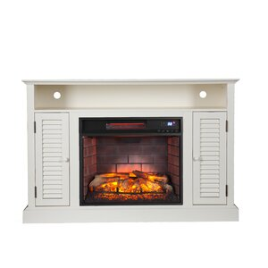 Lombardy 48 TV Stand with Fireplace