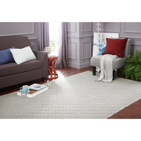 Bettie Filigree Crystal Stream Area Rug by Latitude Run