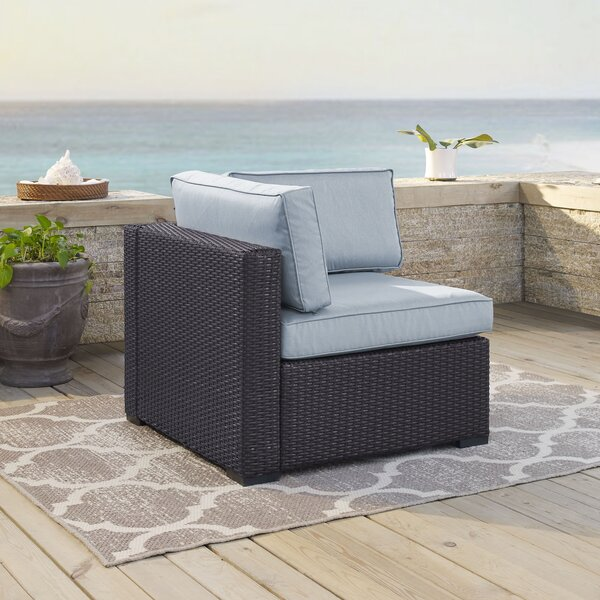 Dinah Corner Chair with Cushions by Highland Dunes