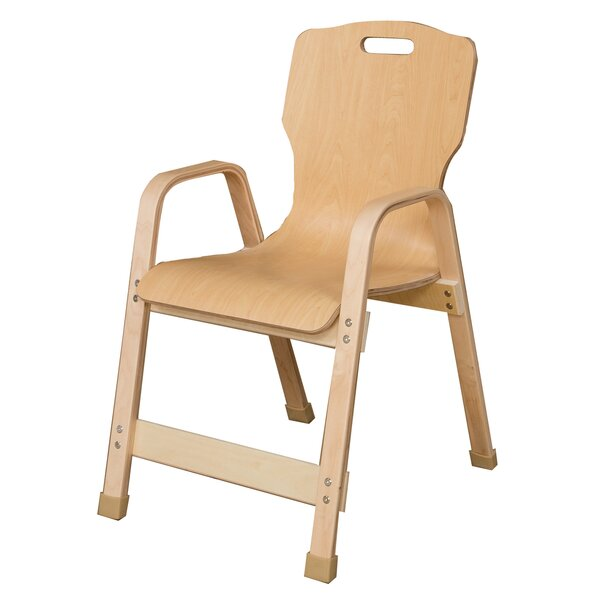 Healthy Kids Wood Classroom Chair by Wood Designs