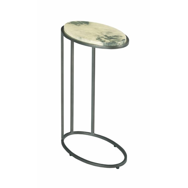 Bohannon Marble Top C Table End Table By Red Barrel Studio