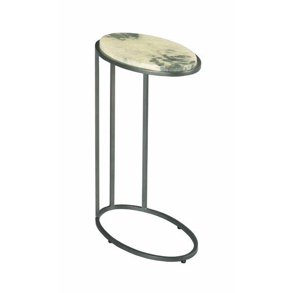 Home Décor Bohannon Marble Top C Table End Table