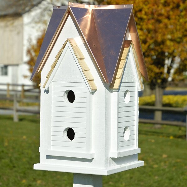 27 in x 15 in x 15 in Purple Martin House by Heartwood