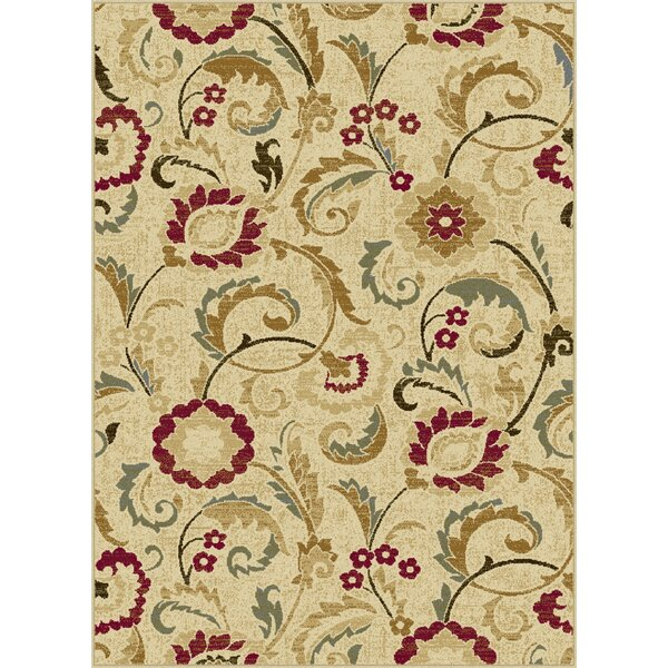 Gulledge Ivory Area Rug by Alcott Hill
