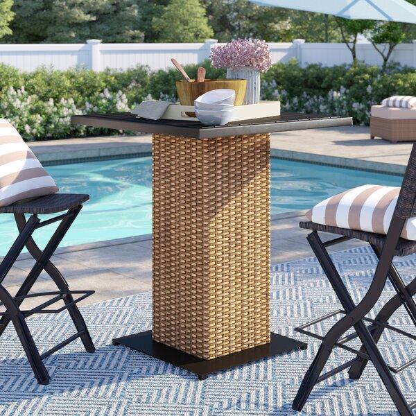 Waterbury Bar Table by Sol 72 Outdoor