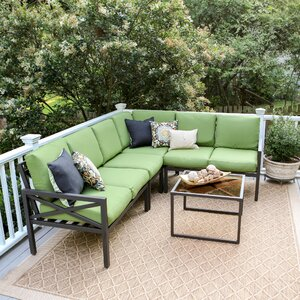 Blakely 5 Piece Sectional Set with Cushions