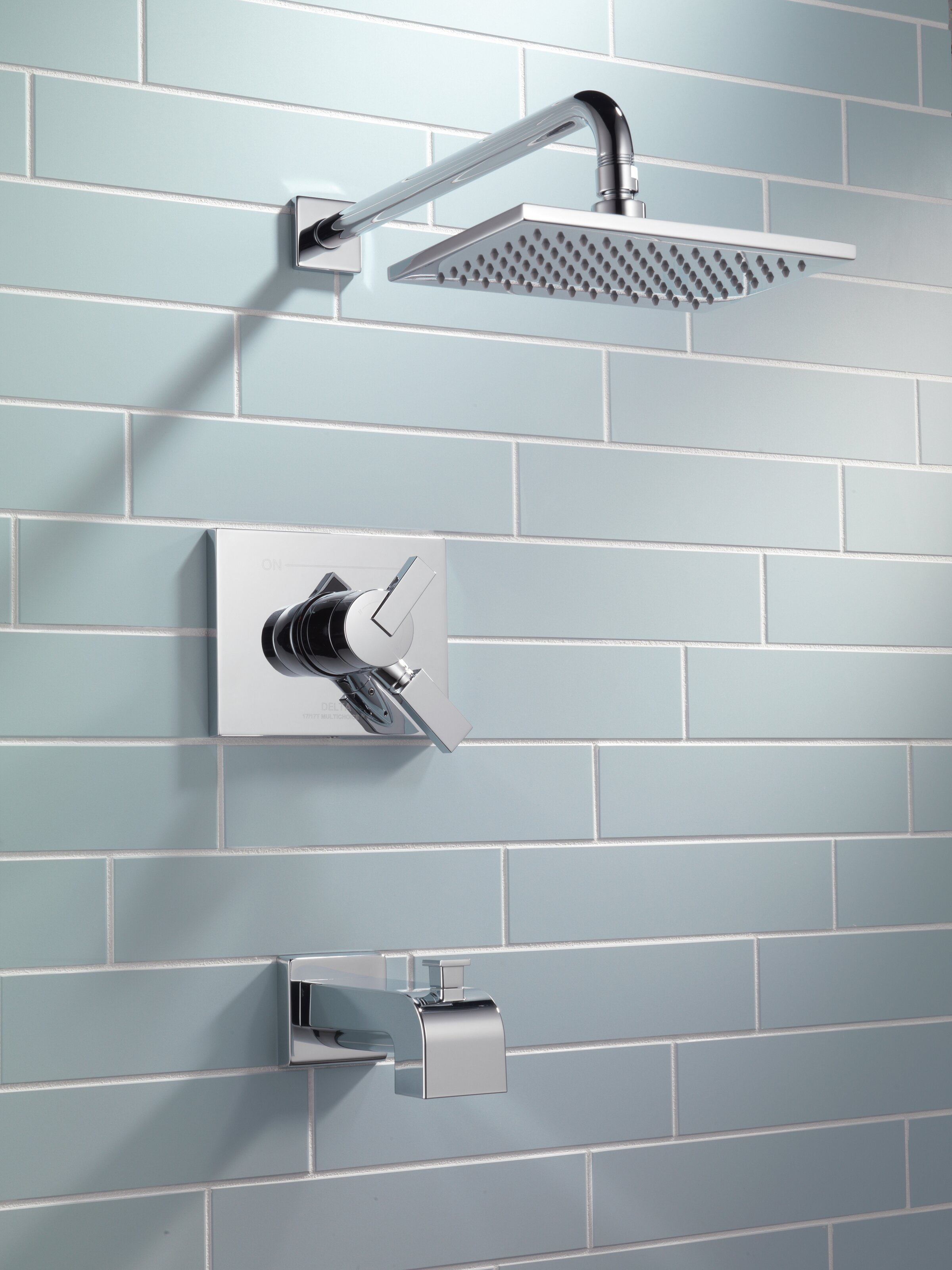 T17453 Ss Cz Delta Vero Volume Control Tub And Shower Faucet Trim