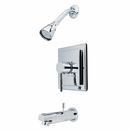 Pressure Balanced Volume Control Tub and Shower Faucet by Elements of Design