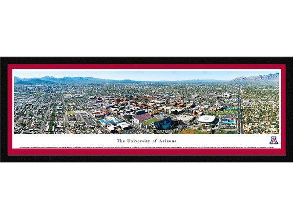 NCAA Arizona, University of by Christopher Gjevre Framed Photographic Print by Blakeway Worldwide Panoramas, Inc