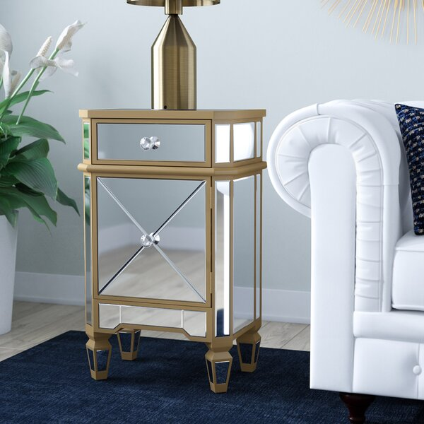 Review Marleigh End Table With Storage