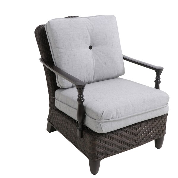 Bungalow Patio Chair with Cushion (Set of 2) by Paula Deen Home