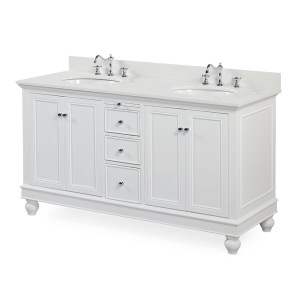 Bella 60 Double Bathroom Vanity Set by Kitchen Bath Collection