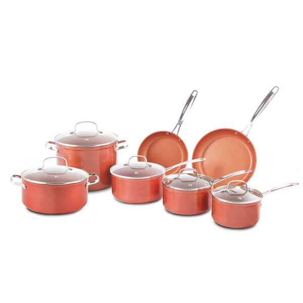 12 Piece Forged Non-Stick Cookware Set by NuWave