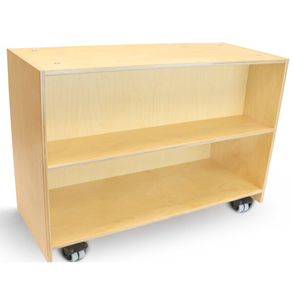 Quill Base Cabinet Bookcase by Zoomie Kids
