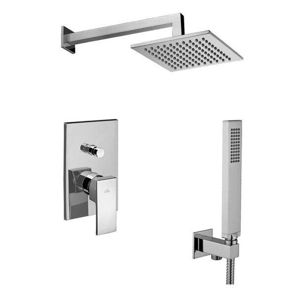 Level Diverter Shower Faucet Lever Handle by WS Bath Collections WS Bath Collections