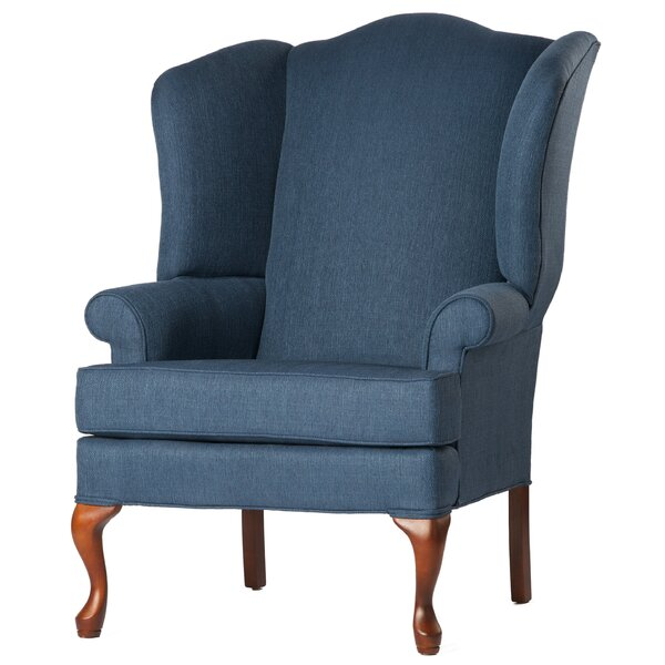 Alanya Wingback Chair by Canora Grey Canora Grey