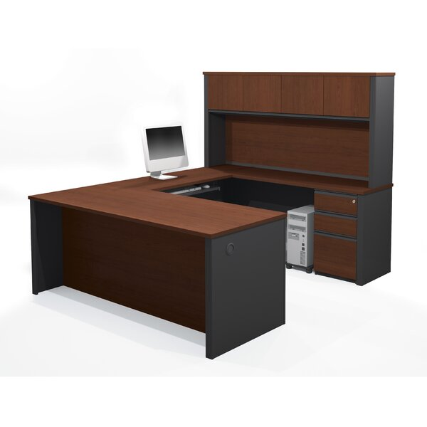 Bormann Executive Desk with Hutch by Red Barrel Studio