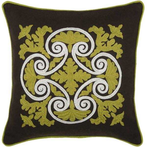 Delphineum  Throw Pillow by Wildon Home ®